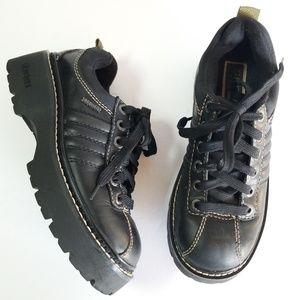 Vtg 90s Skechers platform oxfords creeper shoes